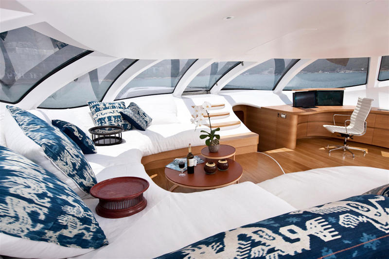 Adastra was presented with the 2013 World Superyacht Award for Most Innovative Design