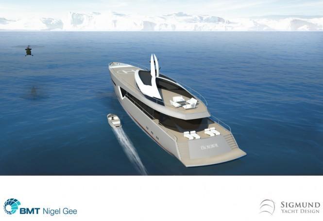 Luxury-motor-yacht-Excalibur-concept-aft-view-665x456