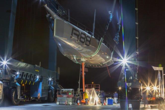 New-sailing-yacht-Rambler-88-at-launch-665x442