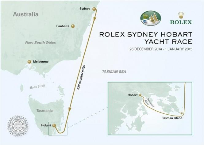 Rolex-Sydney-Hobart-Yacht-Race-Course-Map-Photo-by-Rolex-KPMS-665x473