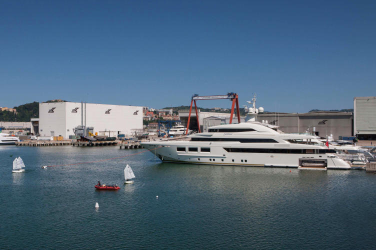 SARAMOUR-yacht-and-the-recently-launched-YALLA-yacht-at-the-CRN-Shipyard-in-Ancona