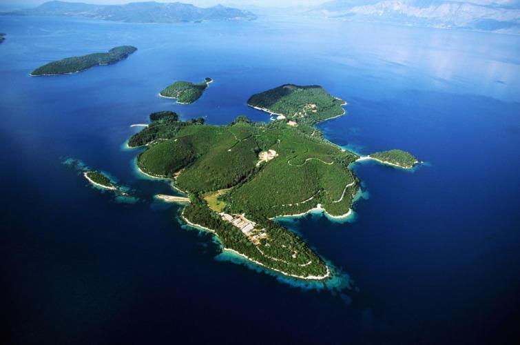Island of the Onassis Family, Greece