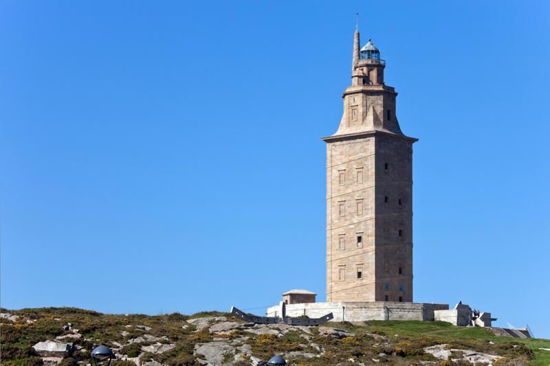 Башня Геркулеса (Torre de Hércules) в Ла-Корунье (6)