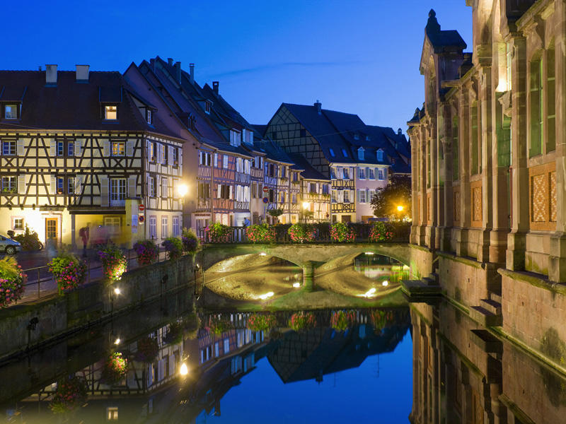 Lauch River in Colmar, France