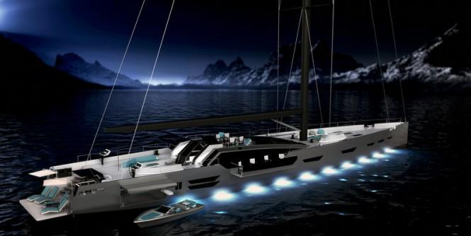 Luxury-yacht-Oceanaid-concept-by-night-665x334