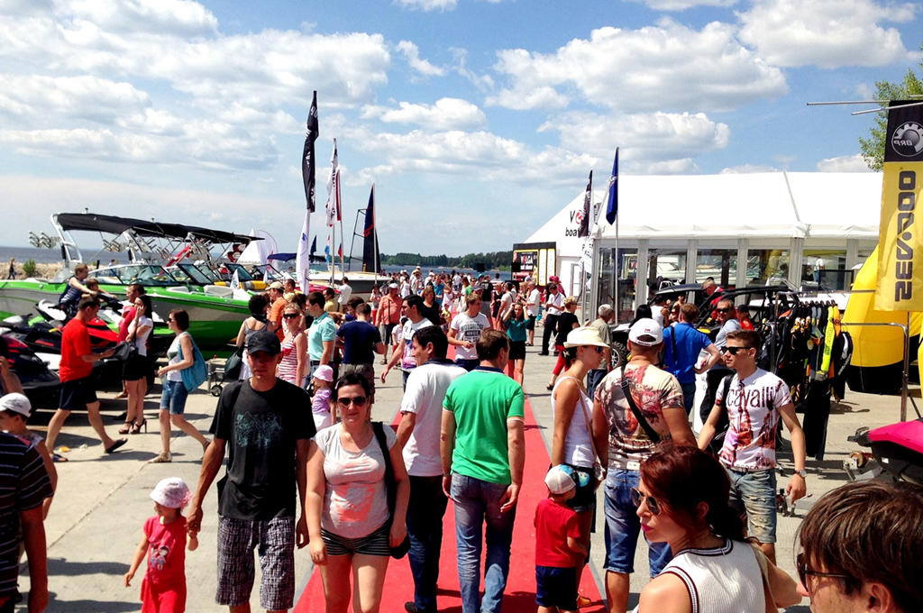 VOLGA boat show 2015 - 2