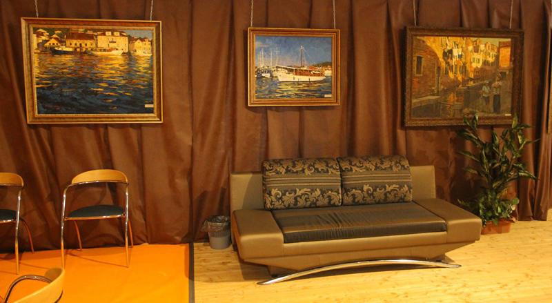 картины на VOLGA boat show