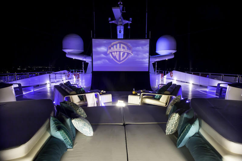 10 Saluzi Yacht -Sun Deck - Cinema