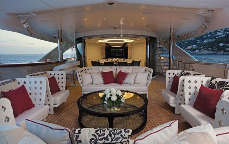 Motor Yacht Quinta Essentia -  Upper deck