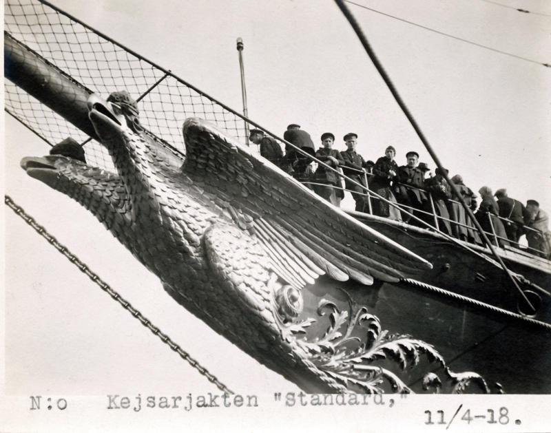 Носовое украшение яхты Штандарт2