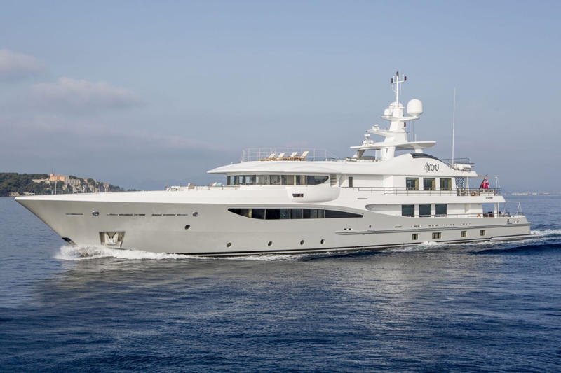 4YOU superyacht by Amels running