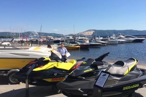 Большой слип на VOLGA boat show