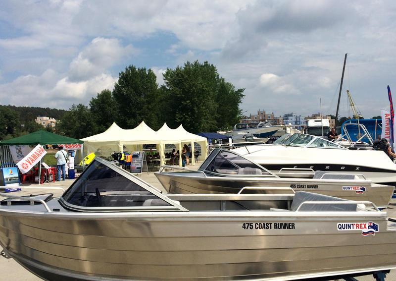 C выставки VOLGA boat show
