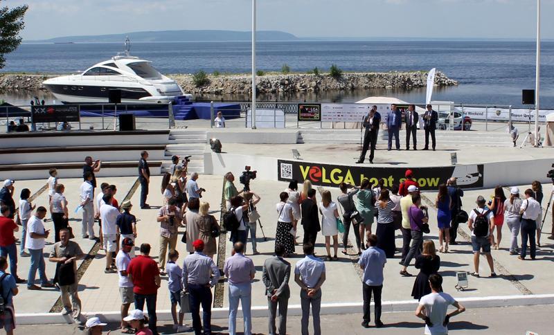 Открытие VOLGA boat show