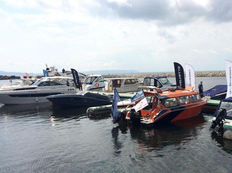 Причал 2 на VOLGA boat show