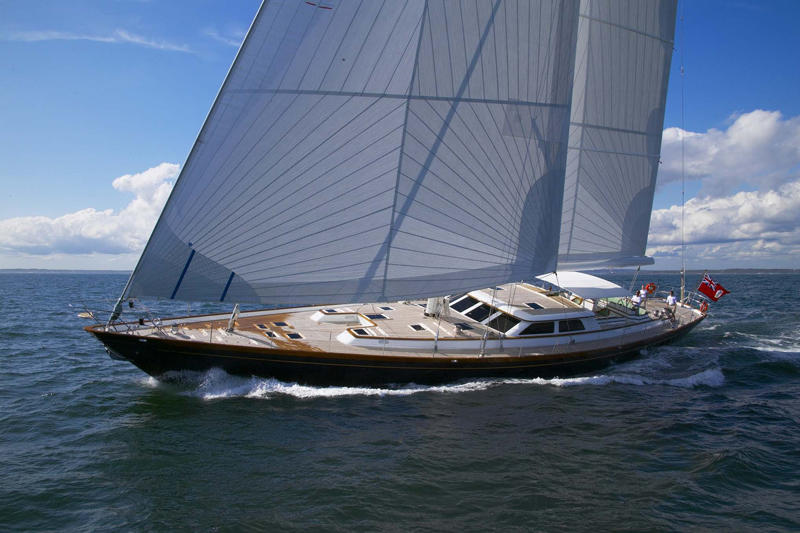 Sailing yacht WHISPER -  Main