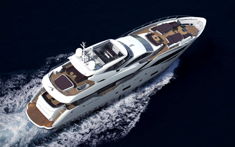 Sunseeker-116-Yacht-from-above
