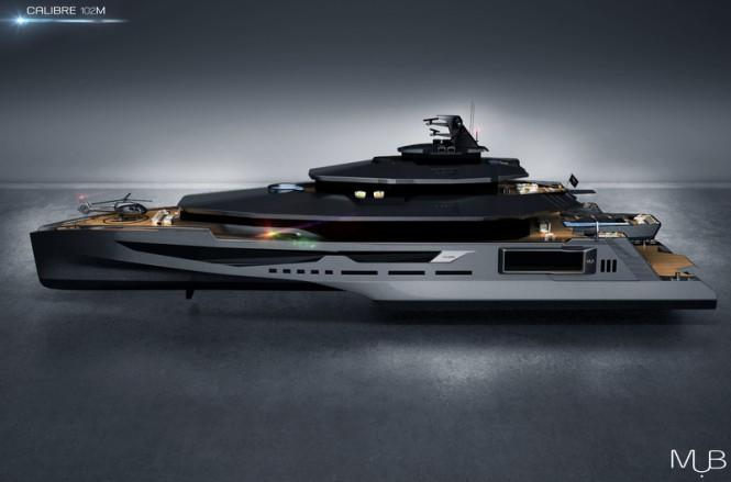 Super-yacht-CALIBRE-Concept-side-view-665x439