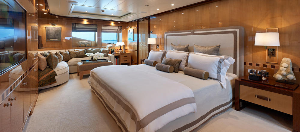 Yacht BELLE AIMEE -  Master Cabin