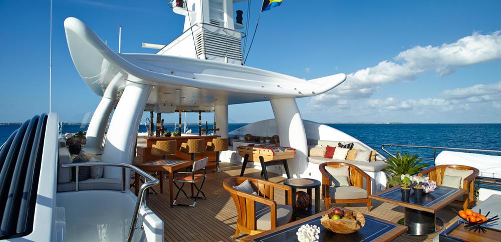 Yacht BELLE AIMEE -  Sundeck 2