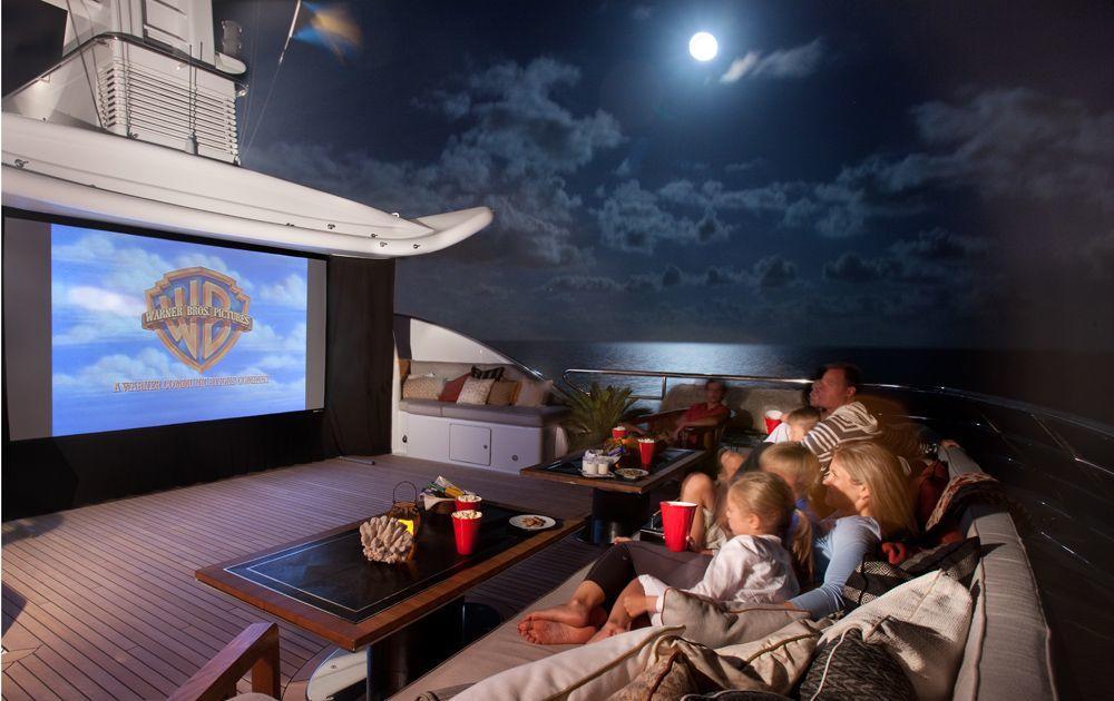 Yacht BELLE AIMEE -  Sundeck Movies