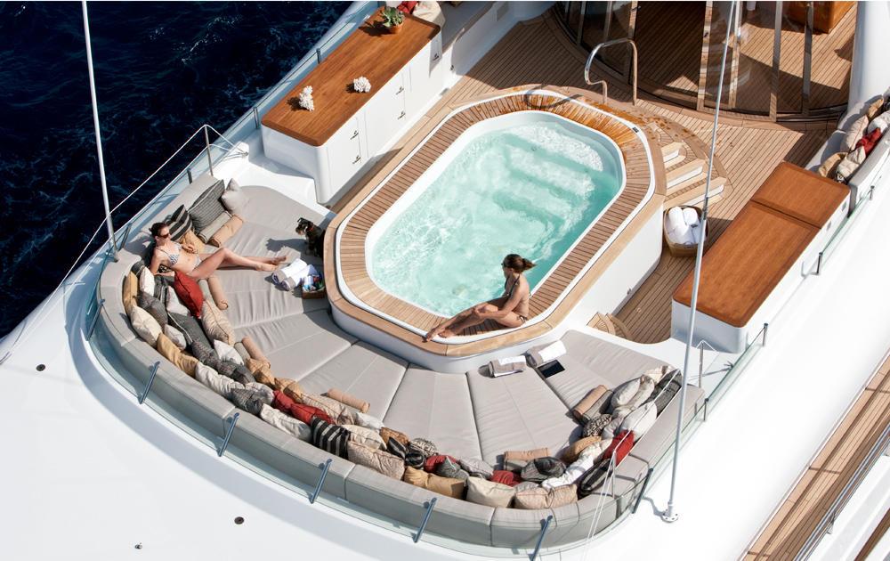 Yacht BELLE AIMEE -  Sundeck
