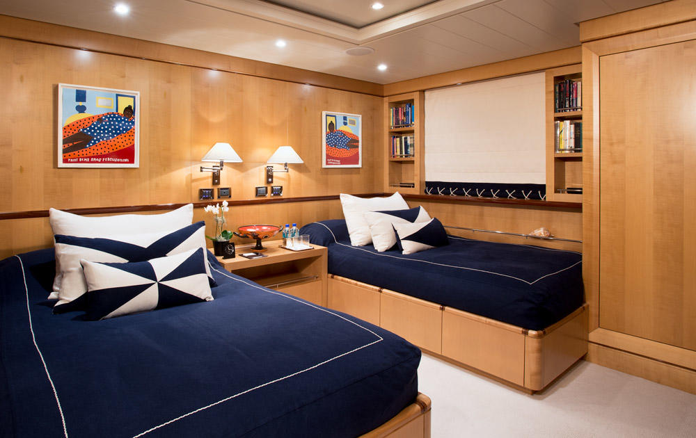 Yacht BELLE AIMEE -  Twin Cabin