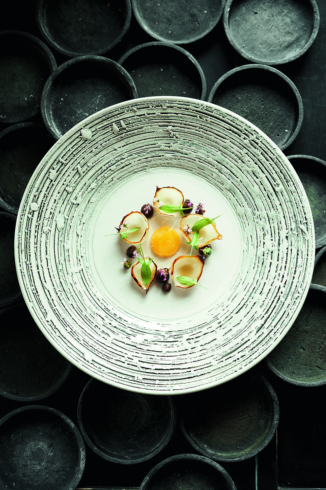Gaggenau_Chef_Esben_Holmboe_Bang_recipe_onions and quail egg_highres
