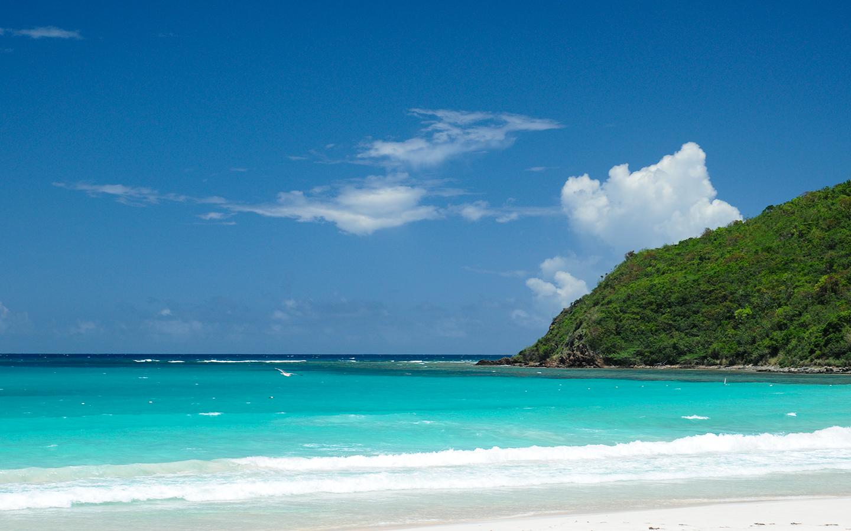 Пляж Фламенко на острове Кулебра