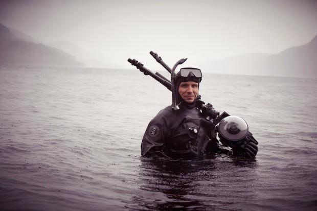 Существуют и водолазы-фотографы, снимающие морское дно