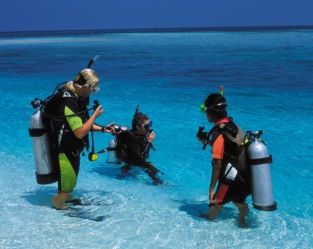Дайвинг-на-Мальдивах