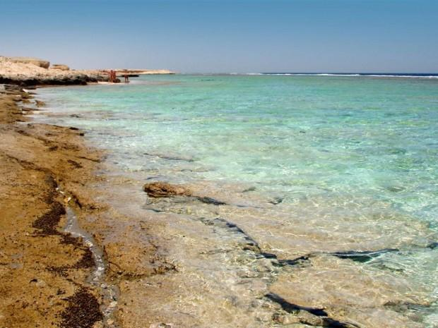 World___Egypt_Rocky_shore_at_the_resort_of_El_Quseir__Egypt_066443_