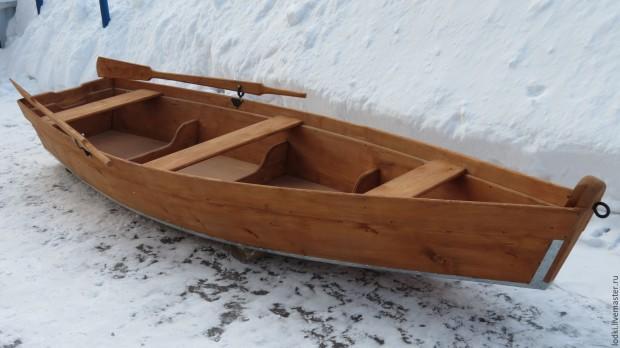 управление деревянной лодкой