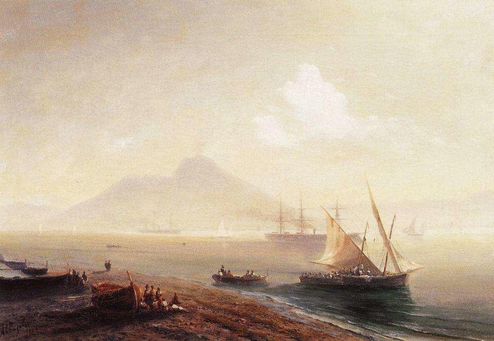 "Последняя картина Айвазовского - ""Морской залив"" (1900)"