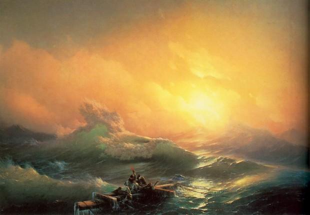 """""""Девятый вал"""" (1850)"""
