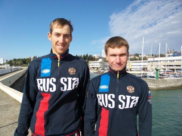Денис Грибанов и Павел Созыкин (справа)