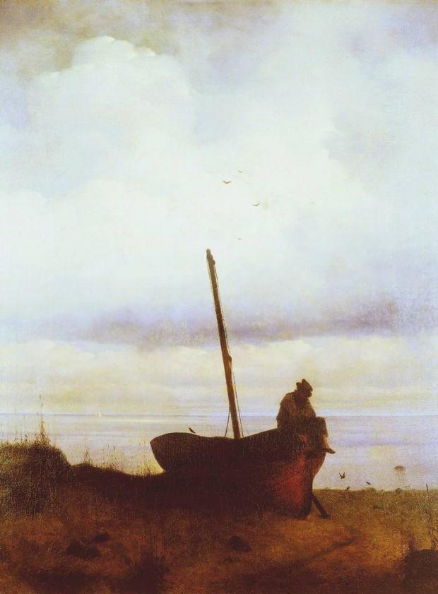 «Вид на взморье в окрестностях Петербурга» (1835)