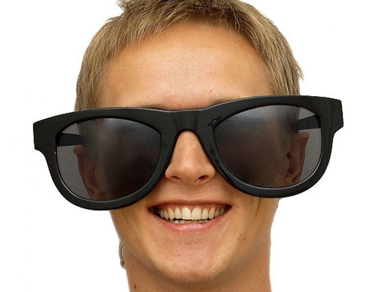 Модные узкие очки