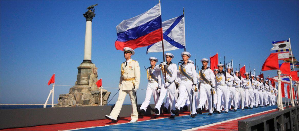 Севастополь как всегда красочно и неповторимо отметил День ВМФ