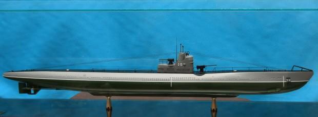 Модель легендарной ПЛ С-13 под командованием Маринеско