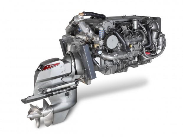 Один из вариантов двигателя для лодки Север 520