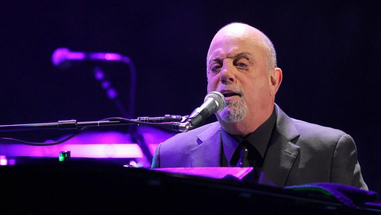 Billy Joel performs his first show of his Madison Square Garden residency, on Monday, January 27, 2014, in New York. (Photo by Greg Allen/Invision/AP)