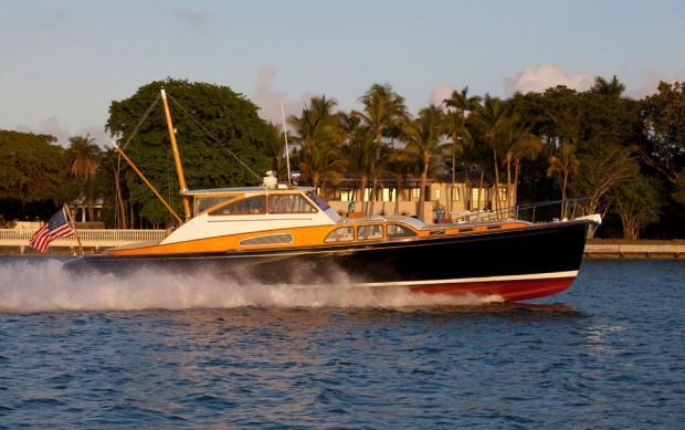 Vendetta, a Doug Zurn designed 57' commuter yacht.