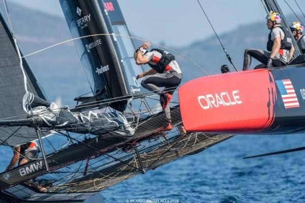 10/09/16 - Toulon (FRA) - 35th America's Cup Bermuda 2017 - Louis Vuitton America's Cup World Series Toulon - Racing Day 1