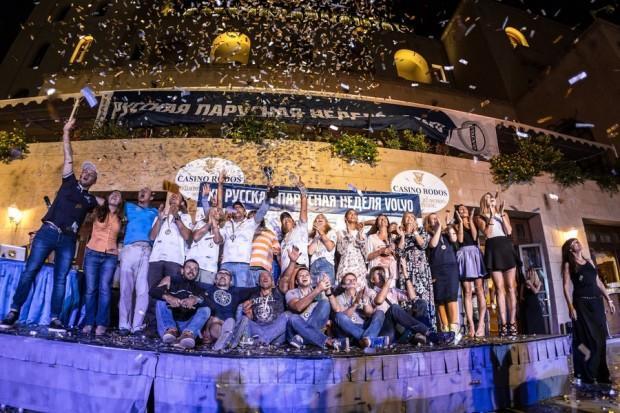В Греции состоялась юбилейная XX Русская парусная неделя Volvo