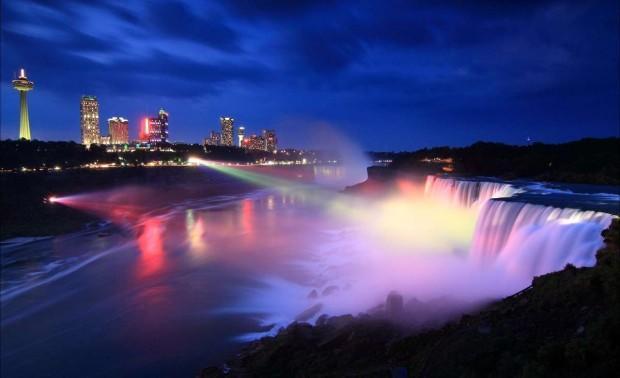 Ниагарский-водопад-Соединенные-Штаты-Америки