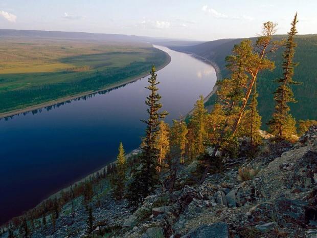 Река Оклемка (бассейн реки Лена)