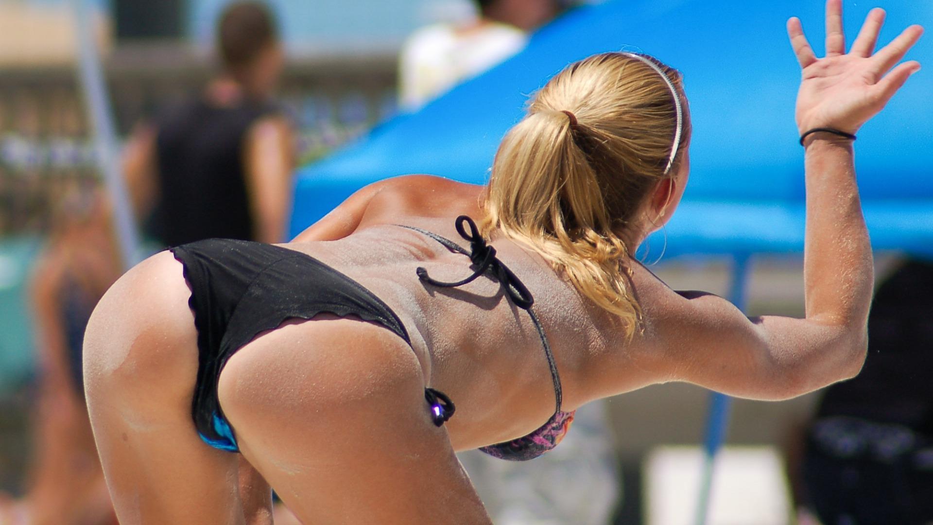 Пляжный волейбол женщины фото эротика