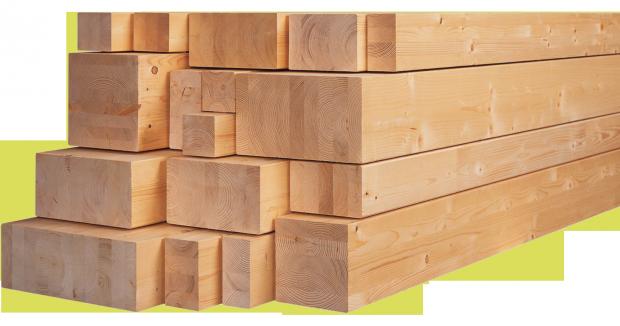 Брус-деревянный