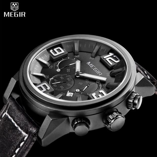 Megir-горячая-кожаный-ремешок-кварцевые-часы-Хронограф-человек-моды-марка-наручные-часы-мужчины-повседневная-аналоговый-новые
